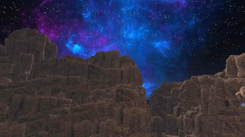 The special EEP sky. photographed by Wildstar Beaumont