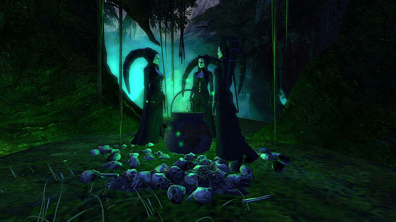 Halloween in Darkwood, photographed by Wildstar Beaumont