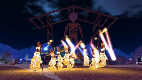 Lamplighters at the Man at Burn2, photographed by Wildstar Beaumont