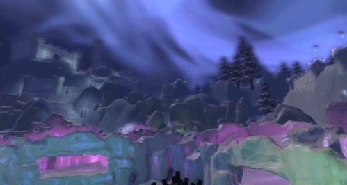 Snowfight Arena In Winter Wonderland