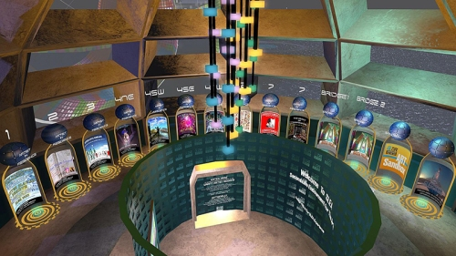 Second Life Endowment for the Arts, photographed by Wildstar Beaumont