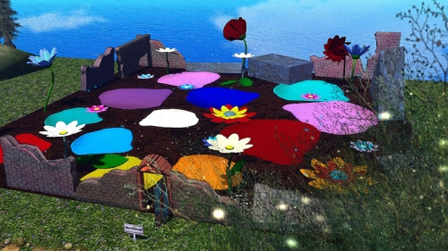 One Billion Rising in Second Life 2021, photographed by Wildstar Beaumont